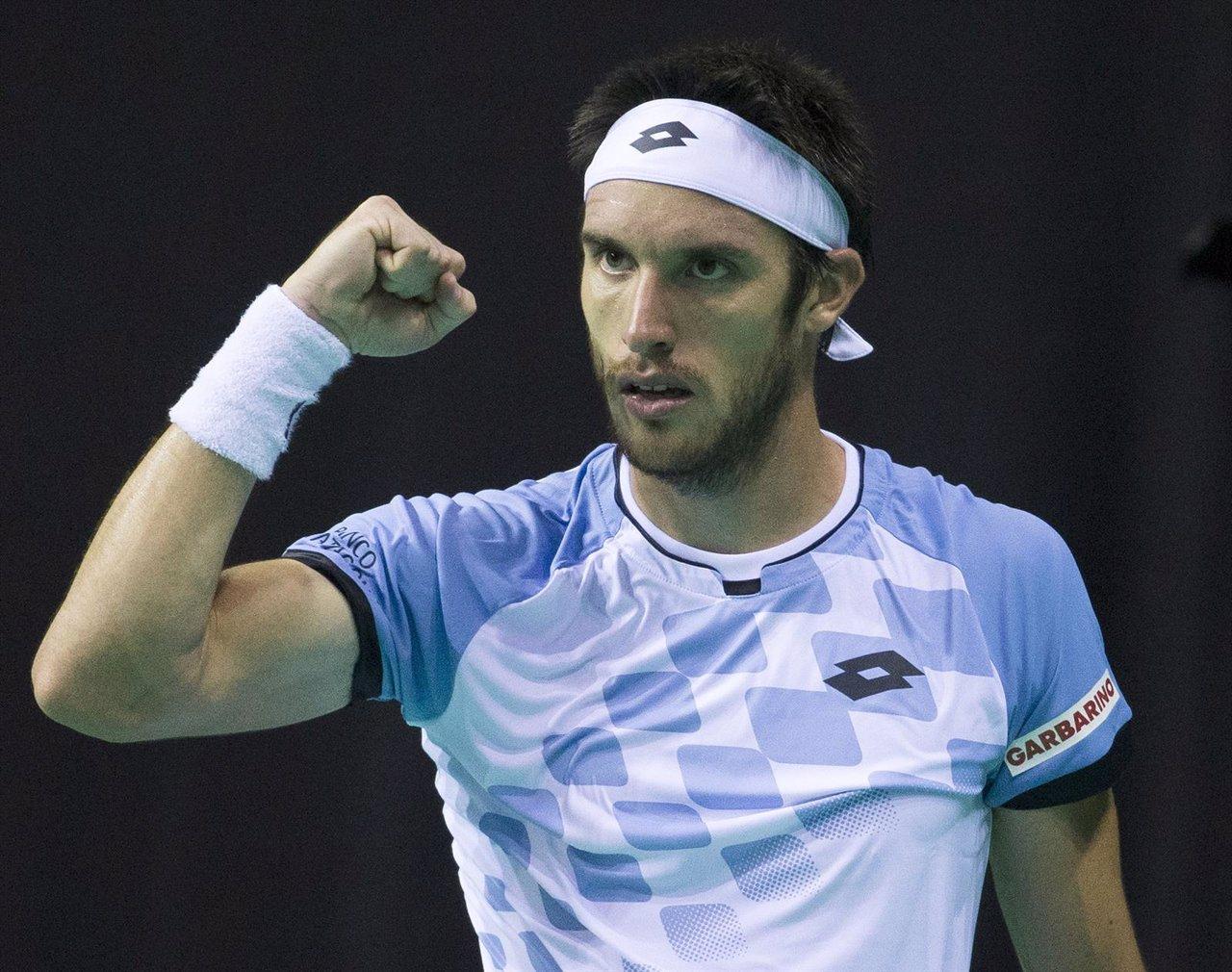 Leonardo Mayer, tenista argentino