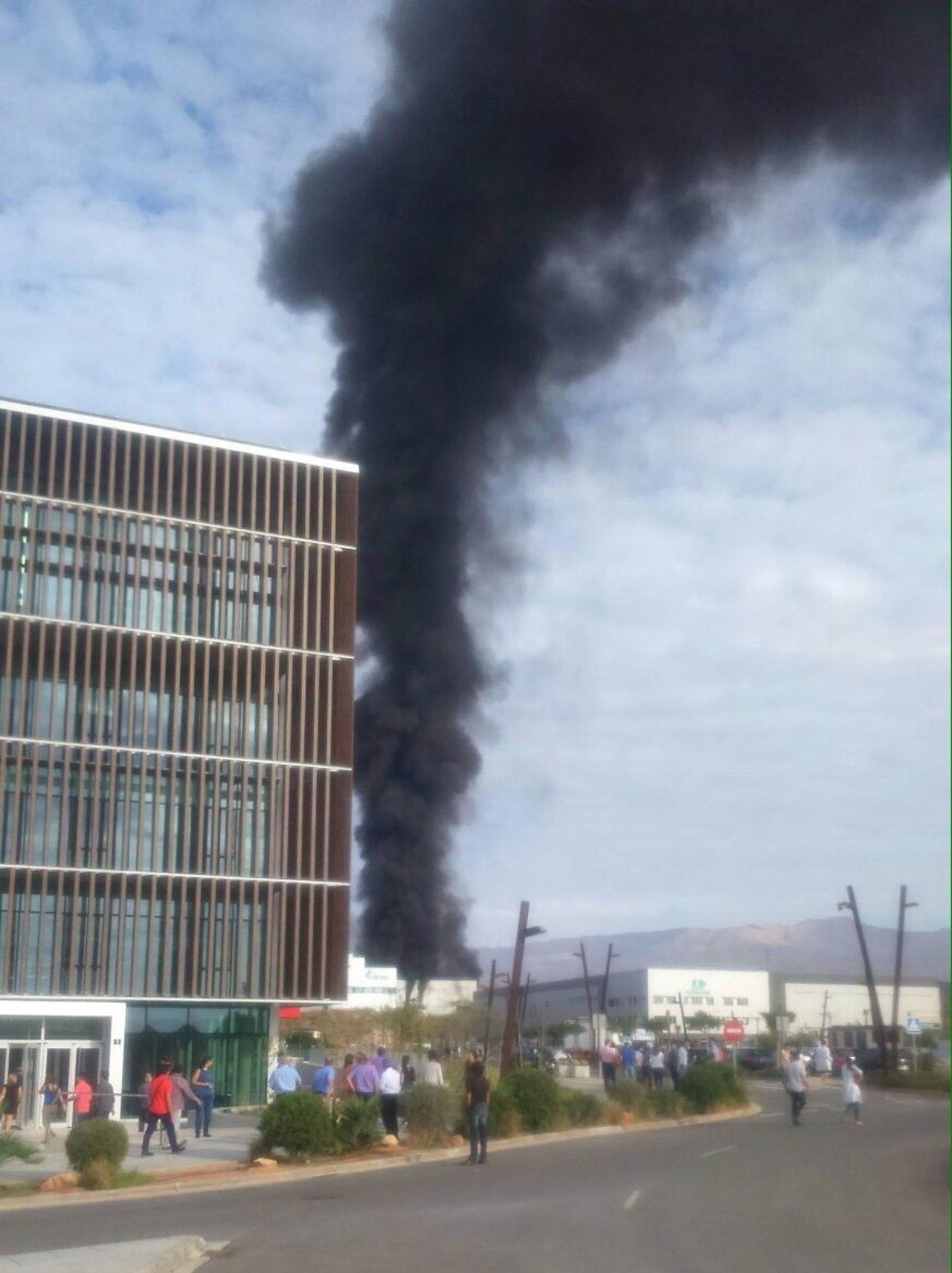 Incendio en el PITA