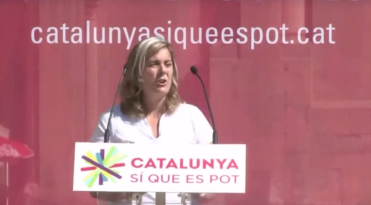 Meritxell Genao, Catalunya sí que es Pot, Podemos