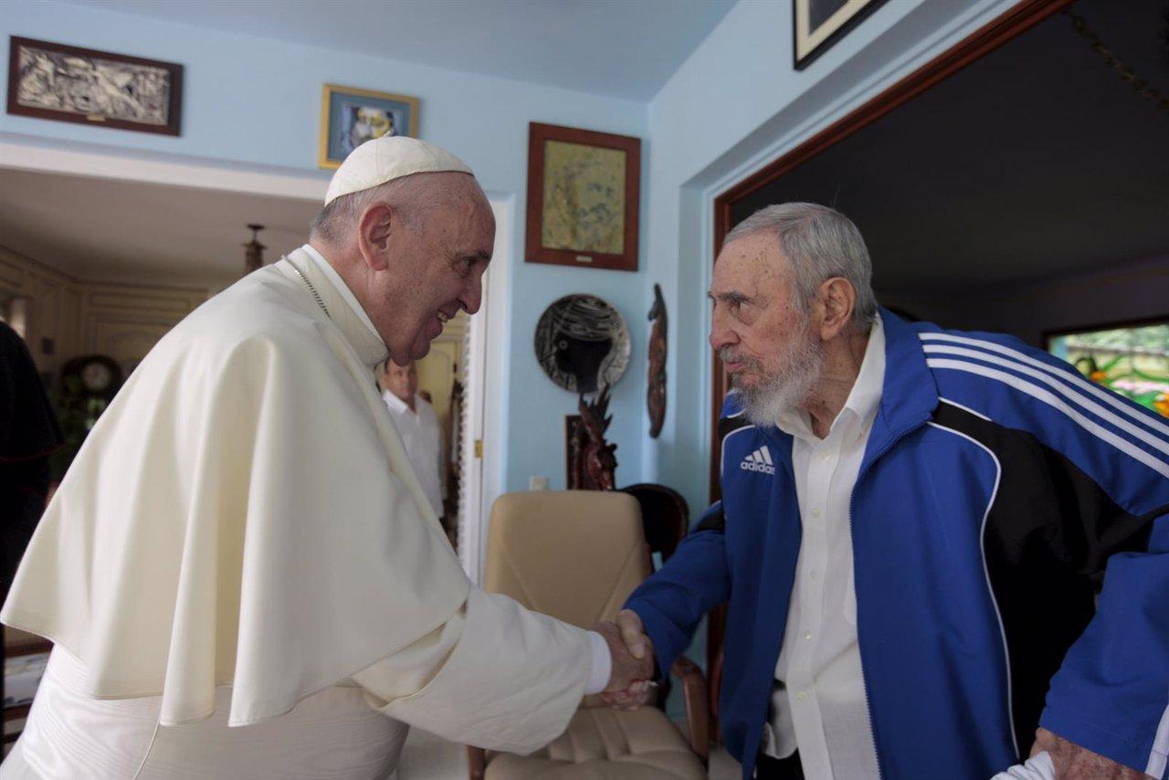 Encuentro del Papa Francisco con Fidel Castro