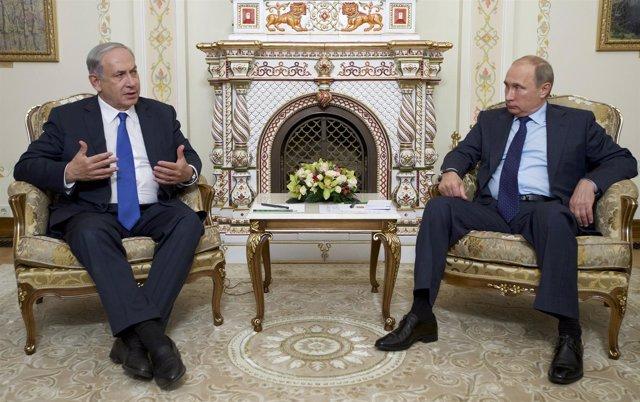 Putin y Netanyahu en Moscú