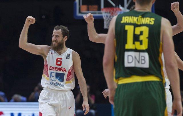 Sergio Rodríguez,Final Eurobasket 2015