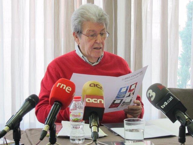 El editor Jorge Herralde