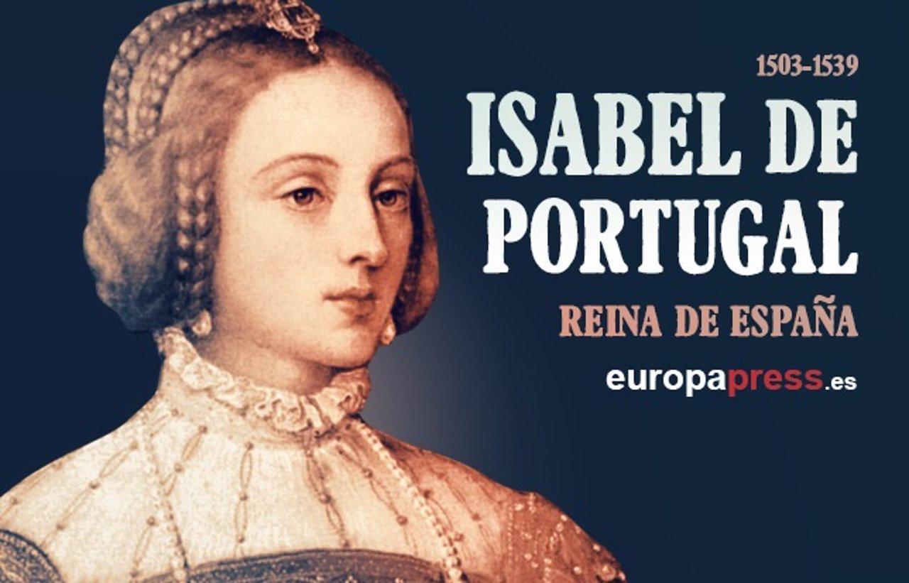Portadilla de Isabel de Portugal, reina de España