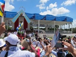 El Papa en Holguín (Cuba)