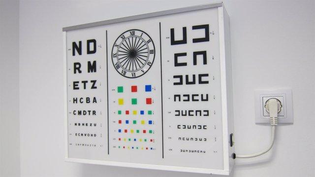 Aparato de revisión de la vista