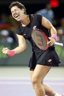 Carla Suárez gana en Miami