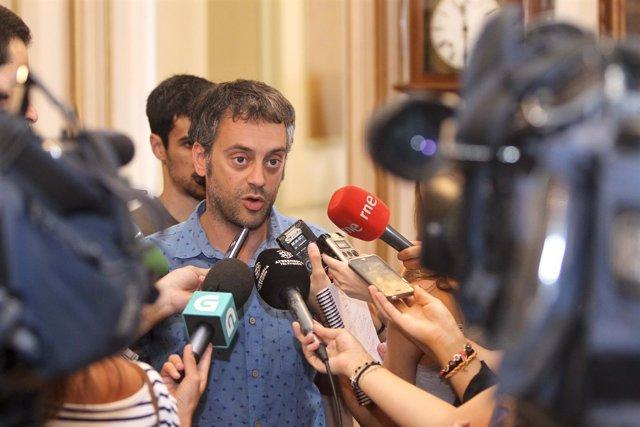 Declaraciones de Xulio Ferreiro, este lunes