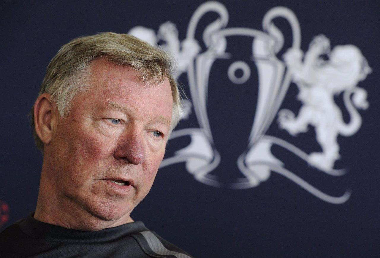 El Entrenador Del Manchester United Sir Alex Ferguson