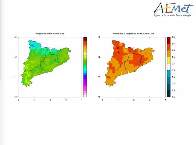 Catalunya vive la ola de calor más larga desde1975