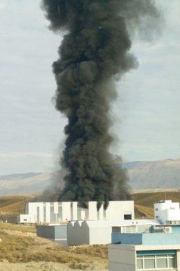 Explosión en la sede de Hintes Oil Europa en el PITA