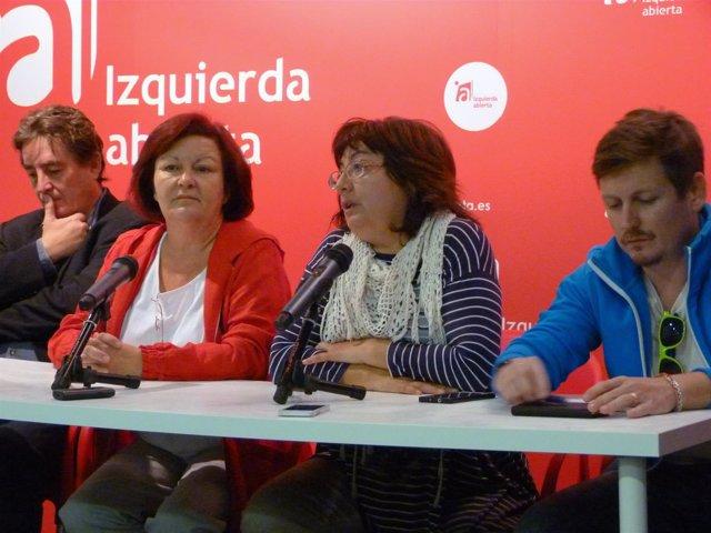 Luis García M ontero, Esperanza Martínez, Montserrat Muñoz y Tasio Oliver