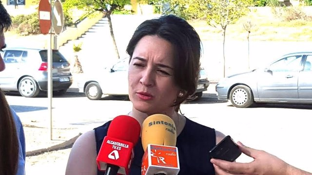 La diputada regional y secretaria de Educación del PSOE,Choni Ludeña