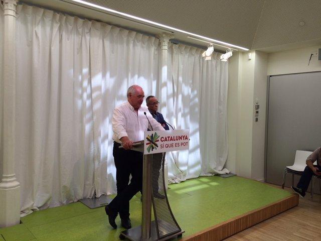 Lluís Rabell y Joan Coscubiela