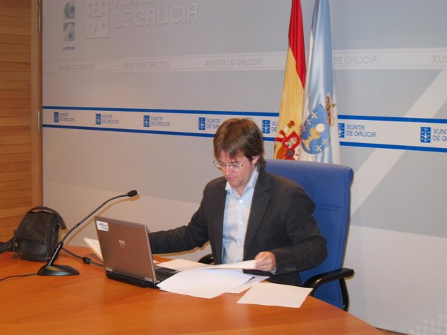 El Presidente De Augas De Galicia, Francisco Menéndez