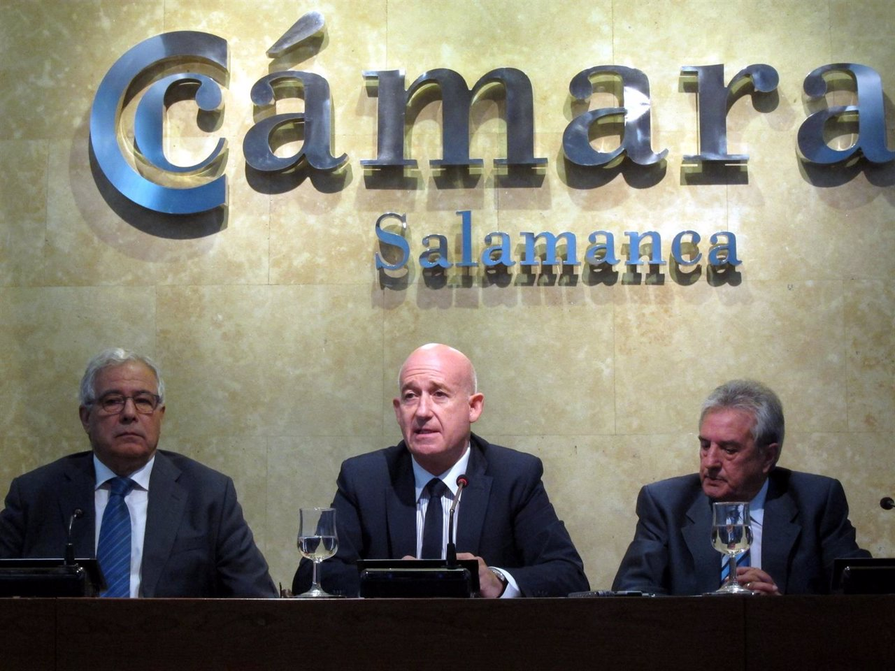 Martín Mesonero en rueda de prensa donde ha pedido elecciones