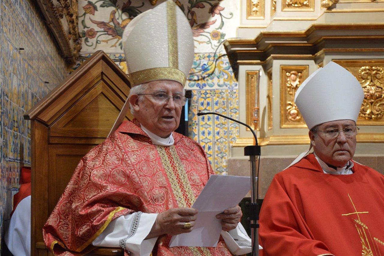 El Cardenal cañizares en una homilía