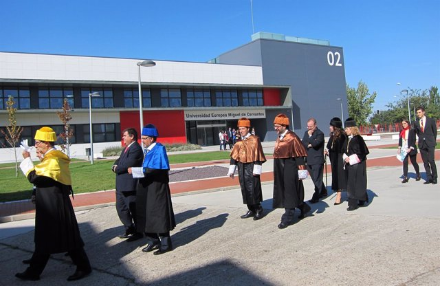 Inauguración curso UEMC