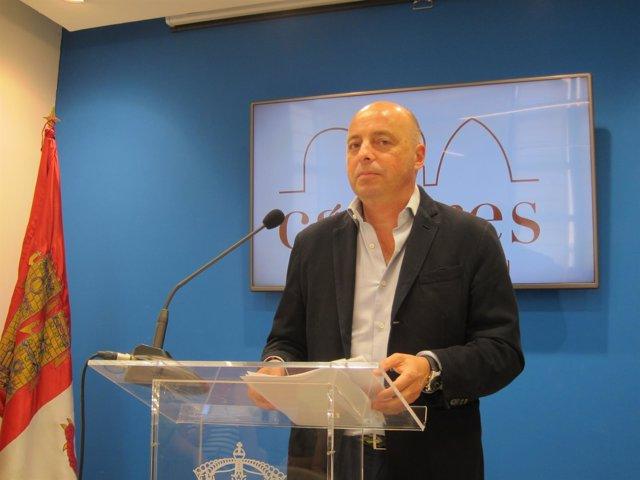 Pedro Muriel, concejal de Deportes de Cáceres