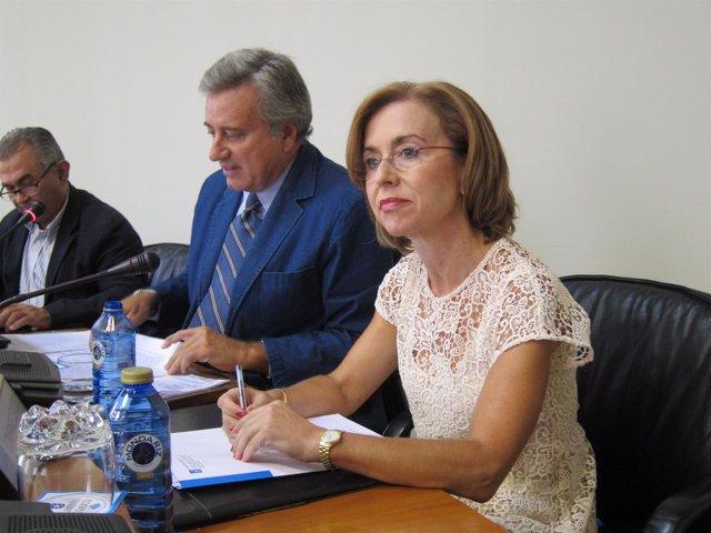 La secretaria xeral de Ordenación do Territorio e Urbanismo, Encarnación Rivas