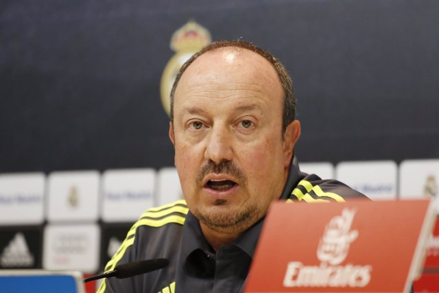 Rafa Benítez, Rueda de prensa Real Madrid