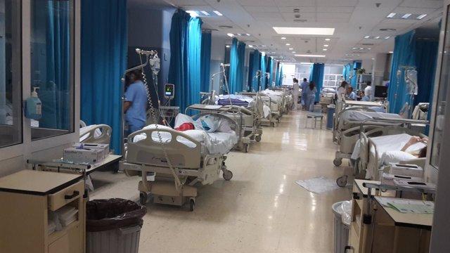 Area de urgencias del Hospital Torrecárdenas