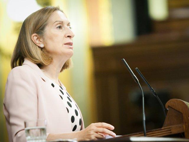 Ana Pastor, en el Congreso