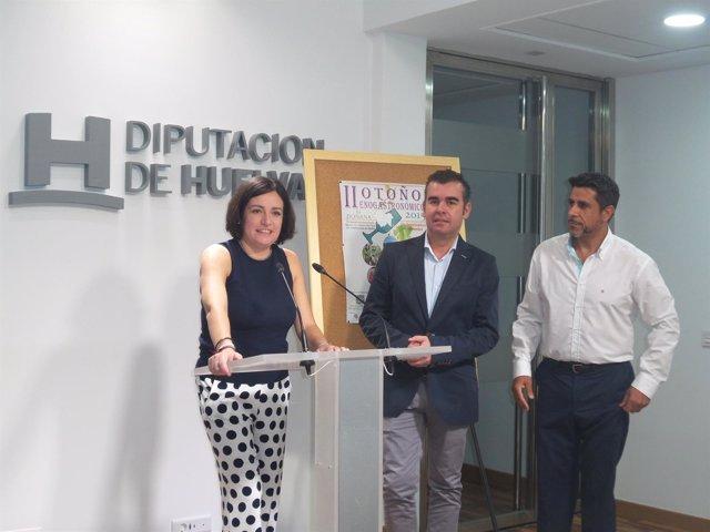 II Otoño Enogastronómico, en la Diputación de Huelva
