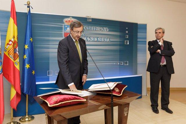 Toma de posesión de Pedro García Carmona