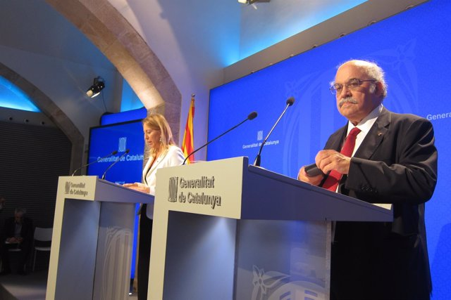 Neus Munté y Andreu Mas-Colell