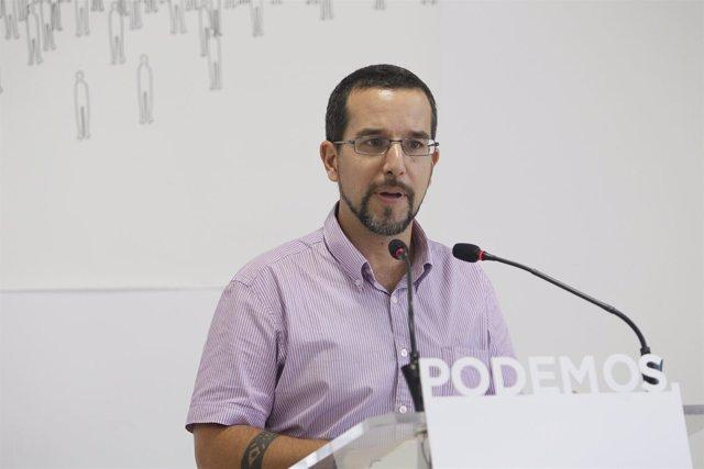 Sergio Pascual, de Podemos