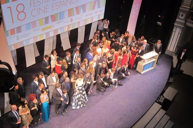 Gala de clausura del Festival de Cine de Málaga con todos los premiados.