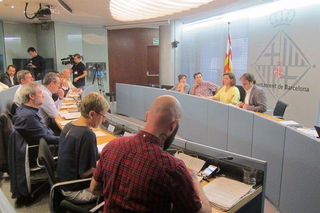 Comisión municipal de Presidencia del Ayto.De Barcelona