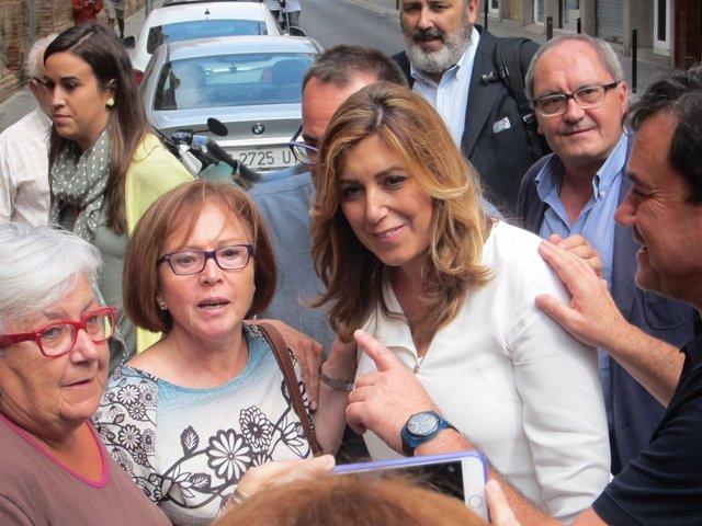 La pta.De la Junta de Andalucía, Susana Díaz