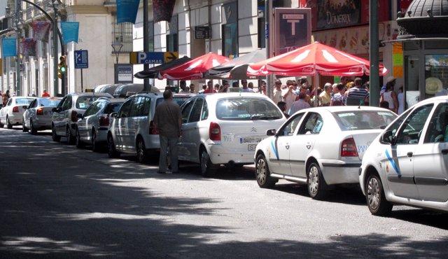 Parada De Taxis De Málaga