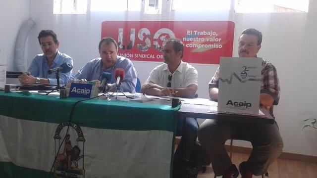 El presidente de Acaip, José Ramón López.