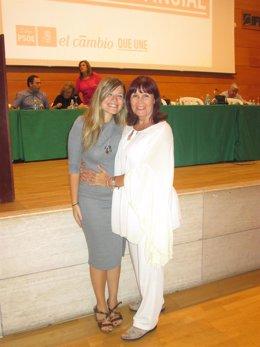 Micaela Navarro y Laura Berja