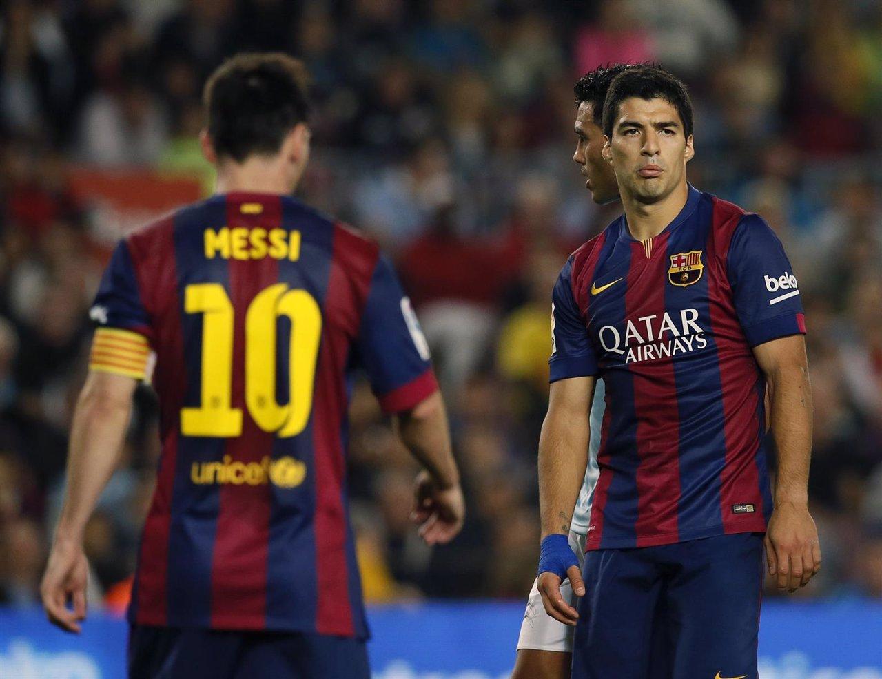 Barcelona Luis Suárez Leo Messi Barcelona