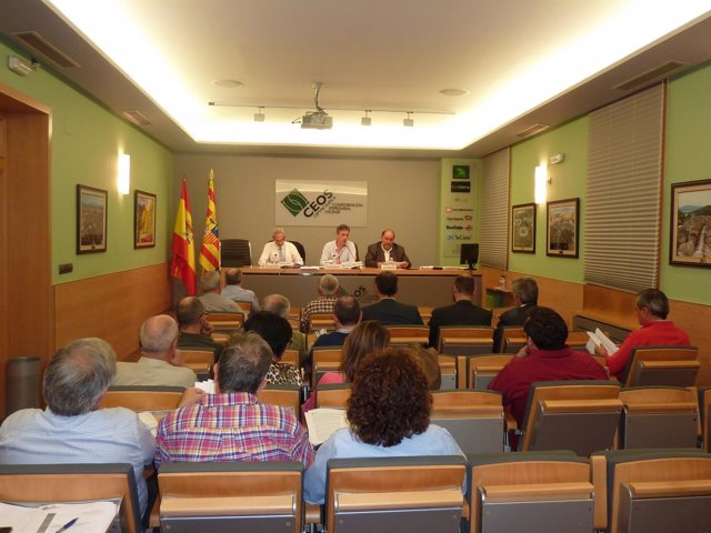 Junta directiva de CEOS-CEPYME Huesca