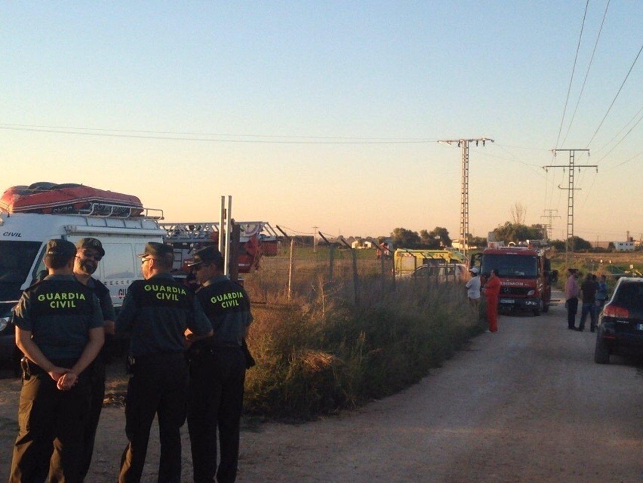 Hombre caído en un pozo en Albacete