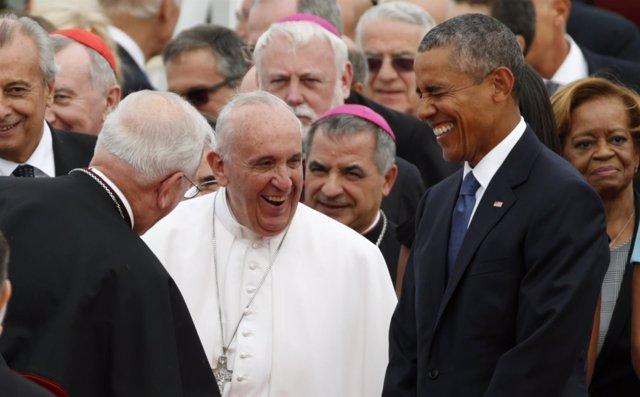 El Papa llega a Estados Unidos