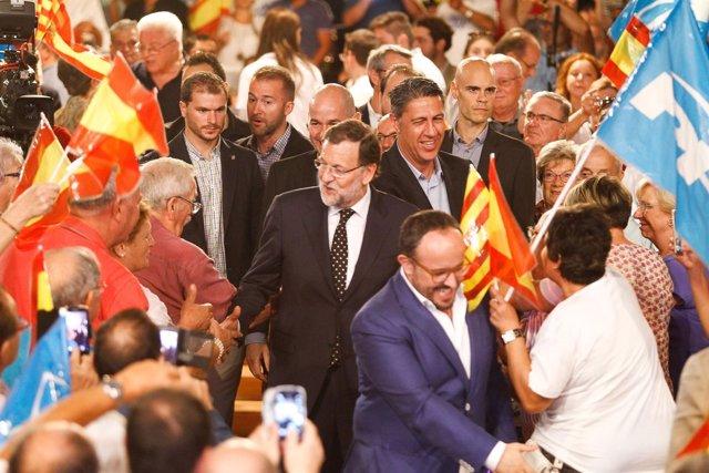 Pte.M.Rajoy, X.G.Albiol (PP)