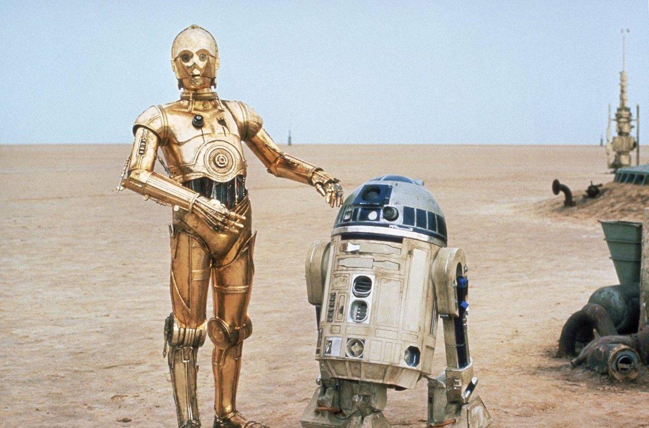 C-3PO Y R2-D2