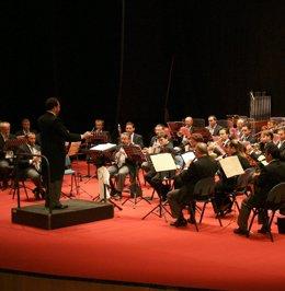La Banda Sinfónica municipal de Huelva.