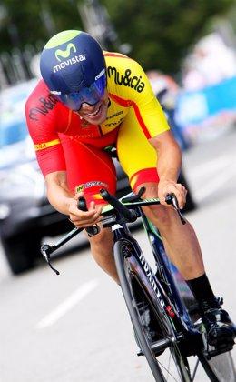 Jonathan Castroviejo, cuarto en la Crono individual de Richmond