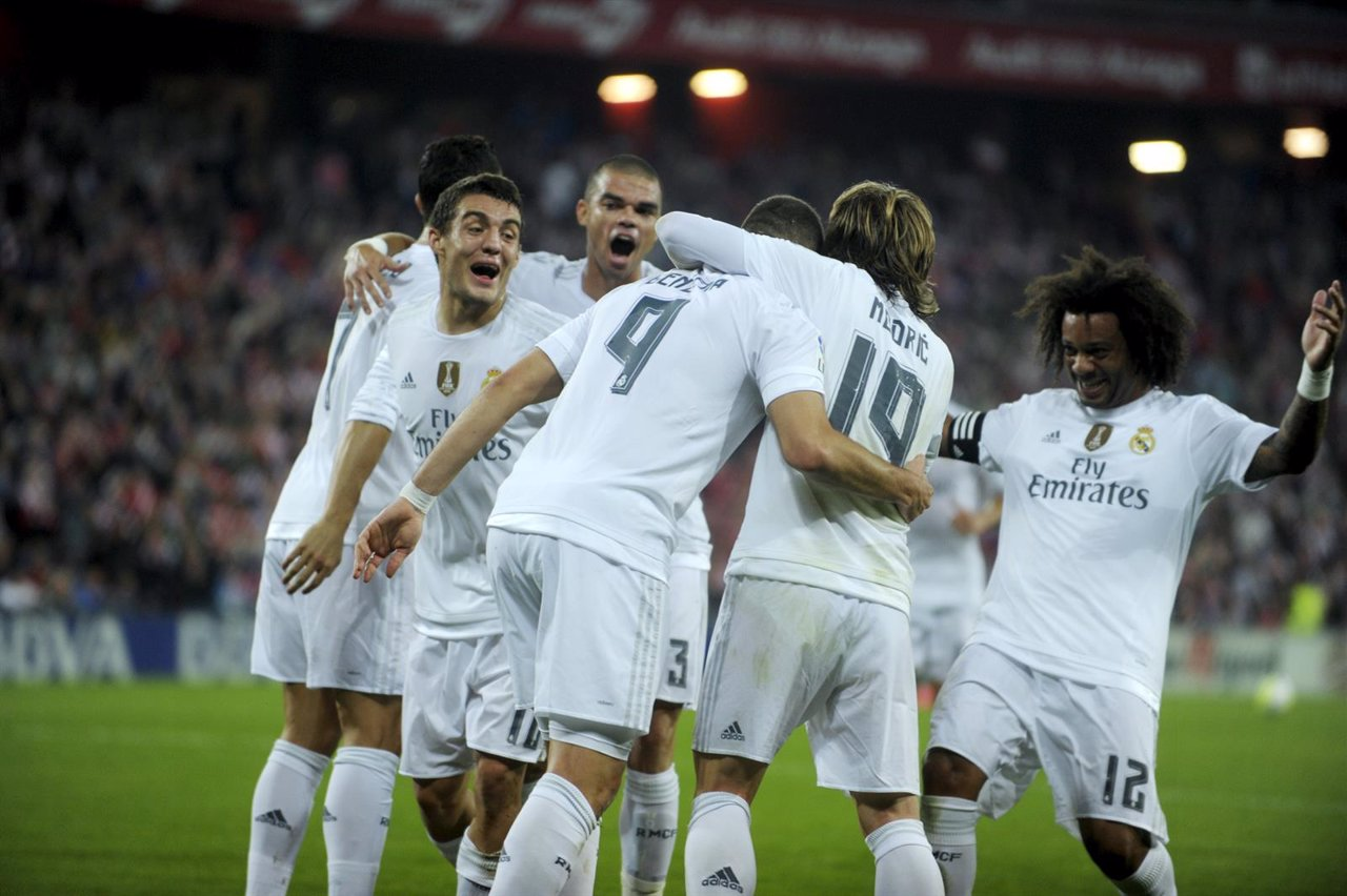 El Real Madrid vence en San Mamés