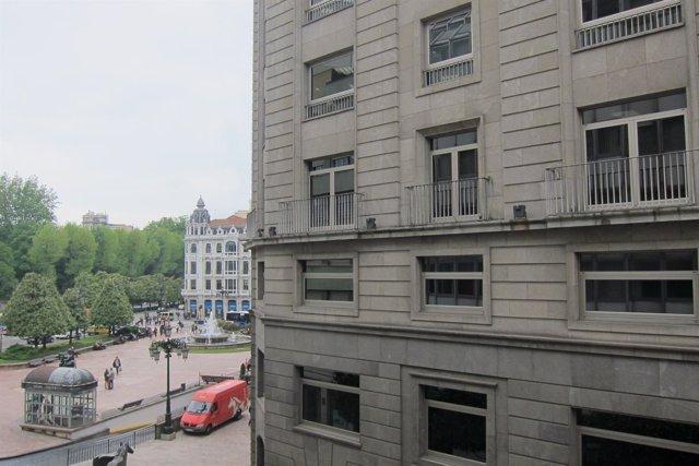 Edificio de Liberbank.