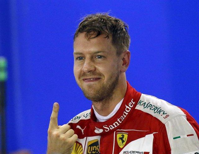 Sebastian Vettel vuelve a lograr la 'pole' en Singapur