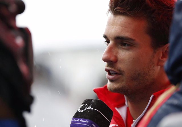 El piloto francés de Marussia Jules Bianchi