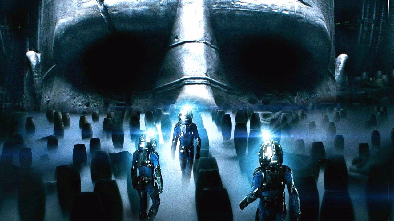 Imagen promocional de 'Prometheus'